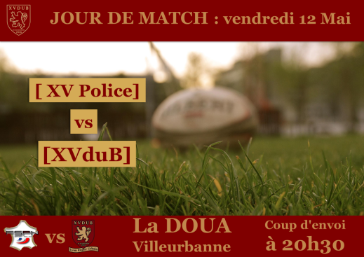 [XVduB] - Affiches Police