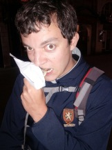 #3 Bruno - Edimbourg, deep fried mars bar
