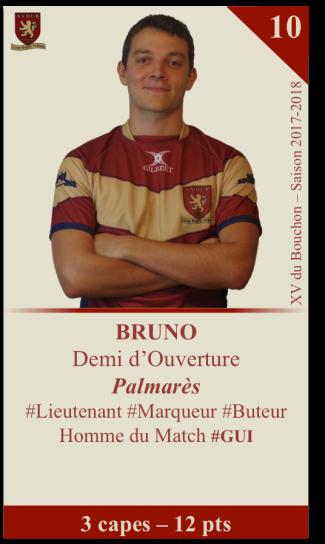 1er. Bruno, 6 pts