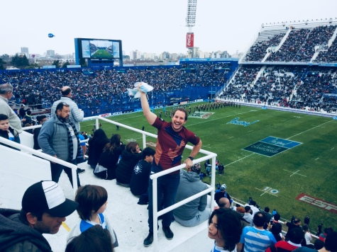 #9 Santi au Rugby Championship. Argentine-All Blacks