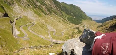#14 Sébastien avec ses lacet & sweat en Roumanie !